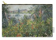 Flowers At Vetheuil Carry-all Pouch
