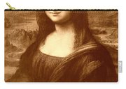 Flowers For Mona Lisa Carry-all Pouch