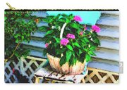 Flowers In A Basket Carry-all Pouch