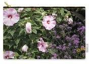 Flowers In A Garden Carry-all Pouch