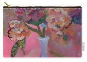 Flowers In A Lavender Vase Carry-all Pouch
