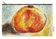 Flowers In A Mosaic Apple Carry-all Pouch