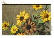 Flowers In Fall 1 Carry-all Pouch
