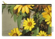 Flowers In Fall 2 Carry-all Pouch