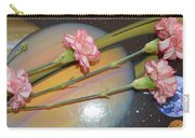 Flowers In Space Carry-all Pouch