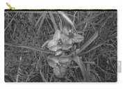 Flowers In Spring Black And White Carry-all Pouch