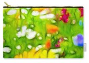 Flowers In The Garden Carry-all Pouch