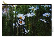 Flowers In The Rain - Daisies  Carry-all Pouch