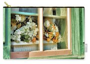 Flowers In The Window Carry-all Pouch