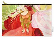 Flowers In Water Carry-all Pouch