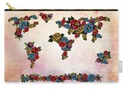 Flowers Map  Carry-all Pouch