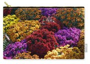 Flowers Near The Grand Palais Off Of Champ Elysees In Paris France   Carry-all Pouch