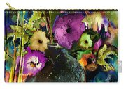 Flowers Night Party Carry-all Pouch