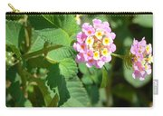 Flowers Of Pink And Orange Carry-all Pouch
