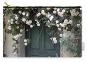 Flowers On The Door Carry-all Pouch
