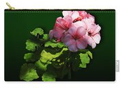 Flowers - Pale Pink Geranium Carry-all Pouch