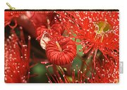 Flowers-red Eucalyptus-australian Native Flora Carry-all Pouch