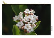 Flowers-tiny White Carry-all Pouch