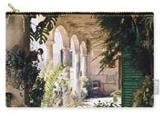 Flowery Majorquin  Patio In Valdemosa Carry-all Pouch