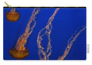 Flowing Pacific Sea Nettles 3 Carry-all Pouch