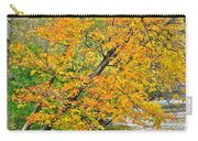 Flowing River Leaning Tree Carry-all Pouch