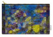 Flowing River Water And Rocks Colorful Abstract Painting Carry-all Pouch