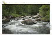 Flowing Stream In Vermont Carry-all Pouch