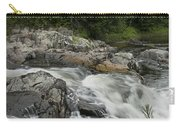 Flowing Stream With Waterfall In Vermont Carry-all Pouch