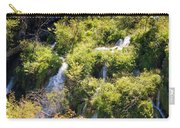 Flowing Water On Falling Lakes Of Plitvice Carry-all Pouch