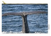 Flukes Of A Sperm Whale 2 Carry-all Pouch