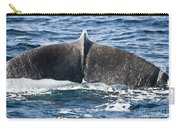 Flukes Of A Sperm Whale Carry-all Pouch