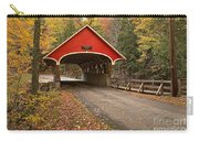 Flume Gorge Covered Bridge Fall Colors Carry-all Pouch