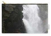 Flume Gorge Waterfall In Autumn Carry-all Pouch