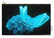 Fluorescing Selenite Gypsum Carry-all Pouch