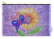 Flutterby Carry-all Pouch