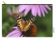 Fluttering Breeze Butterfly Carry-all Pouch by Christina Rollo