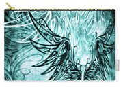 Fly Away Gothic Aqua Carry-all Pouch