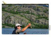 Fly Fishing In Patagonia Carry-all Pouch