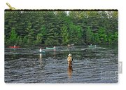 Fly Fishing West Penobscot River Maine Carry-all Pouch