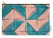 Flyfoot Quilt Block 1 Carry-all Pouch