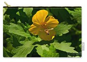 Flying Bee And Wood Poppy Carry-all Pouch