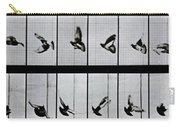Flying Bird Carry-all Pouch by Eadweard Muybridge