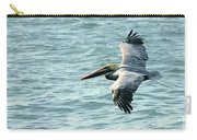 Flying Brown Pelican  Carry-all Pouch