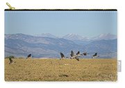 Flying Canadian Geese Colorado Rocky Mountains 1 Carry-all Pouch