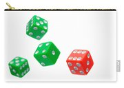 Flying Craps Dice  Carry-all Pouch