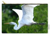 Flying Egret Closeup Carry-all Pouch