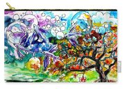 Flying Fish Tree And Bubbles Carry-all Pouch