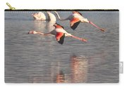 Flying Flamingos Carry-all Pouch