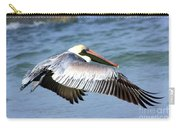Flying Florida Pelican Carry-all Pouch