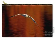 Flying Gull On Fall Color Carry-all Pouch